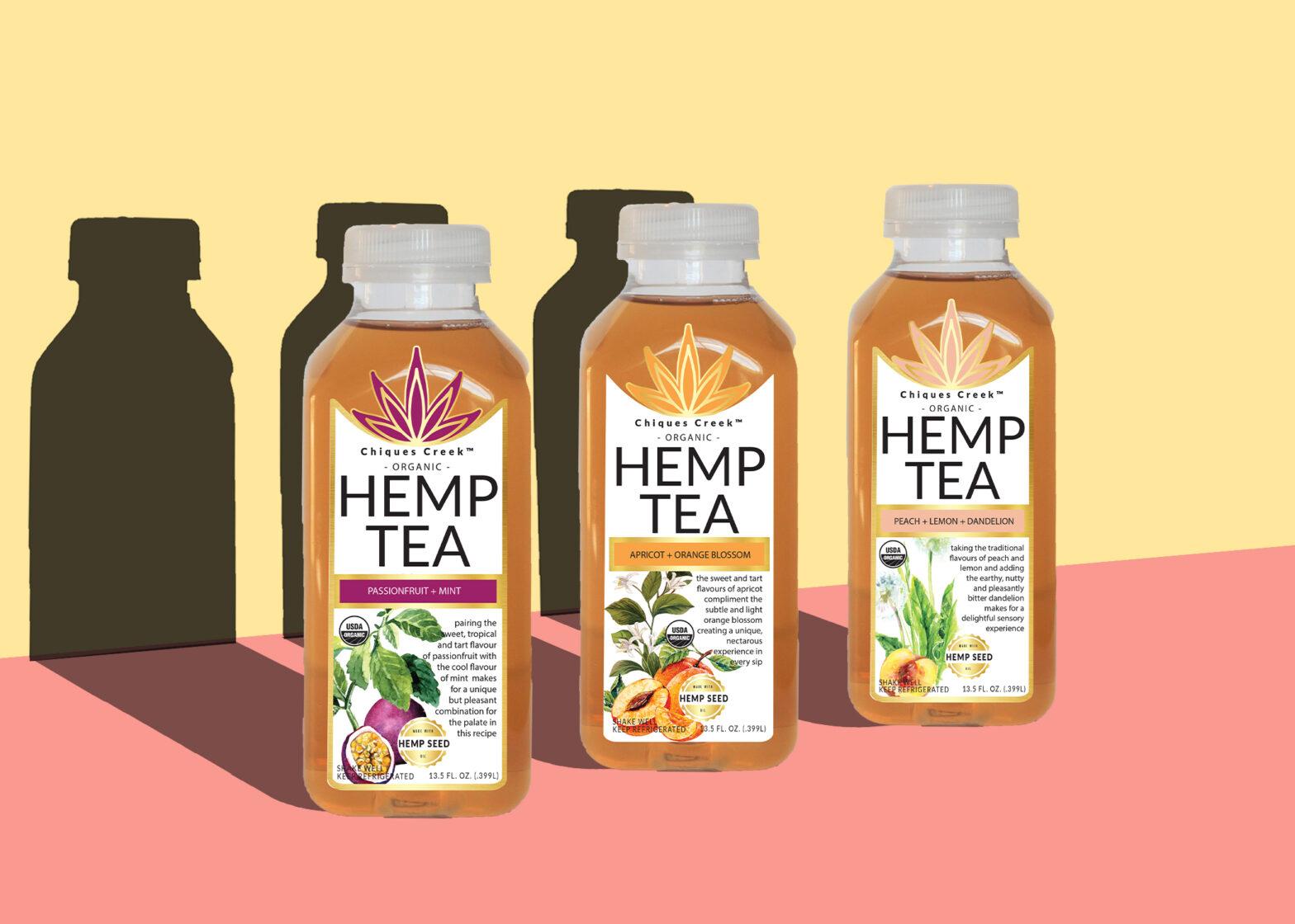 Three Flavour of Chiques Creek Hemp Tea