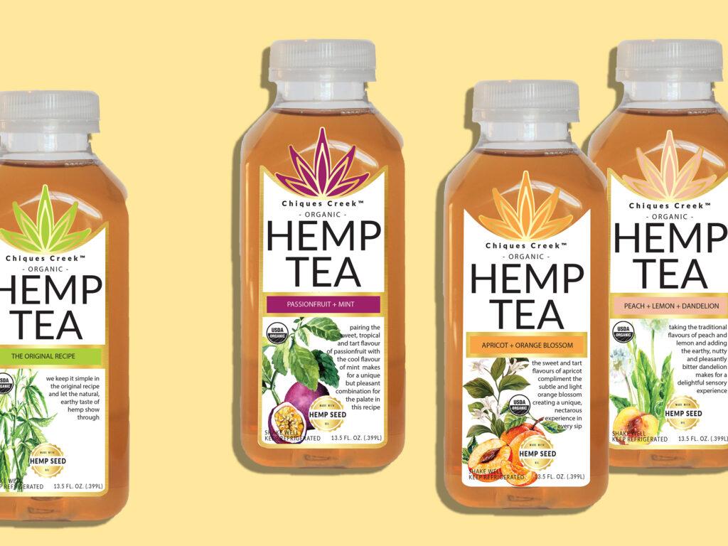 Chiques Creek Hemp Tea flavors